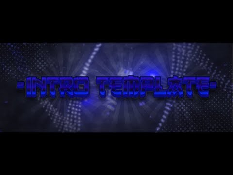 Blue Sync Intro Template [Cinema 4D, After Effects]