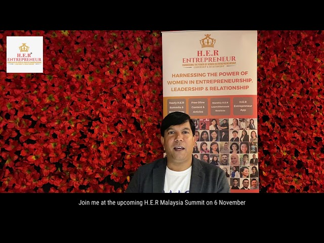 H.E.R® Malaysia Summit 2019 - Navin Danapal Promo