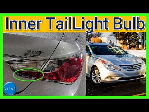 How to Replace Inner Tail Light Bulb – Hyundai Sonata (2011-2014)