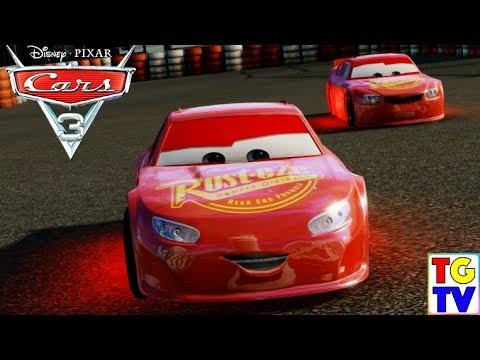 Cars 3 Driven To Win Rusteze Bobby Swift Brick Yardley Vs Dinoco Smokey Junior Moon Youtube