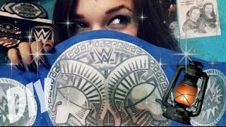 How to make WWE Tag Team Championship title belt