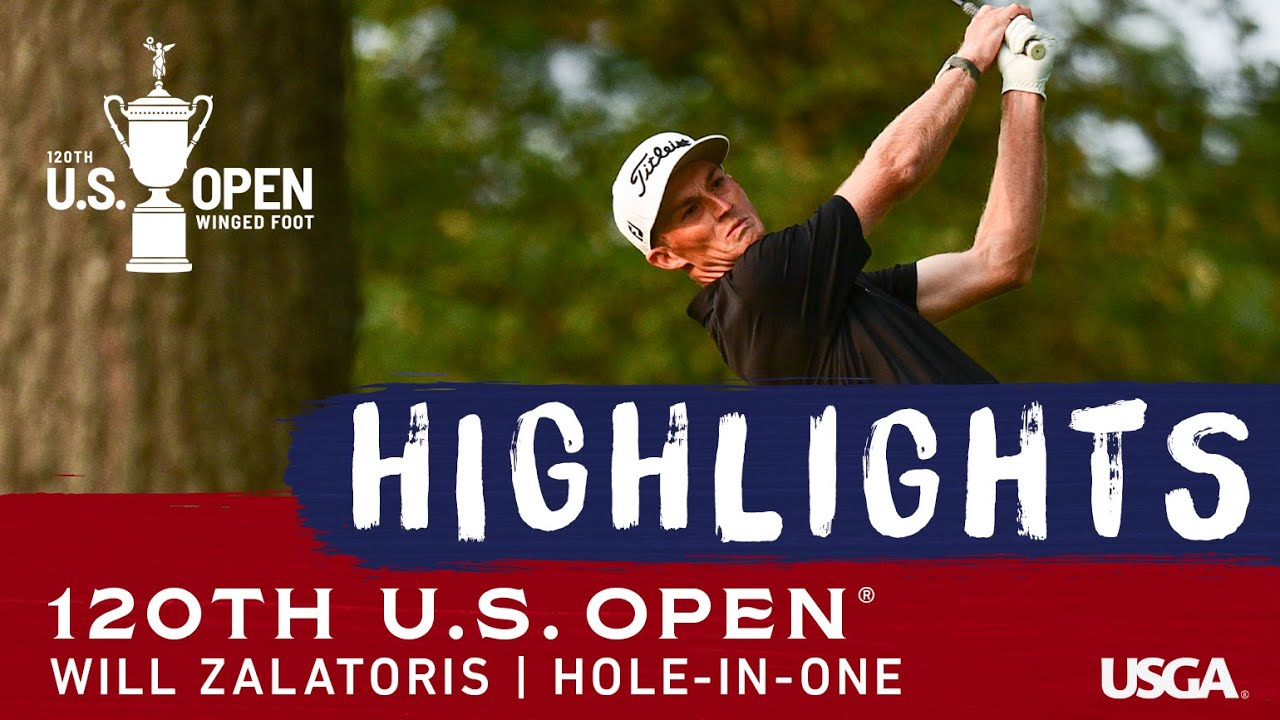 2020 U.S. Open: Will Zalatoris Aces the 7th Hole in Round 1