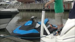 Jet ski lift/Tenderlift / PWC lift. Smartlift-200 / 370 kg