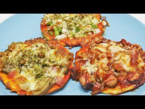 La mejor masa para pizzas y tres recetas de minipizzas