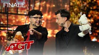 Mat Franco And Dustin Tavella Deliver Incredible Magic - America's Got Talent 2021