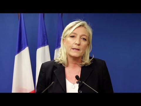 Déclaration de Marine Le Pen suite aux attentats de Charlie Hebdo
