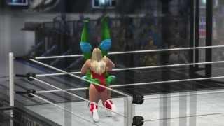WIWA Wrestling Match #74: Leonardo vs Princess of Darkness WIWA TV Title