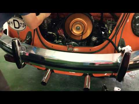How to make VW Beetle Exhaust Quiet Type 4 Vintage Speed SS143 Exhaust
