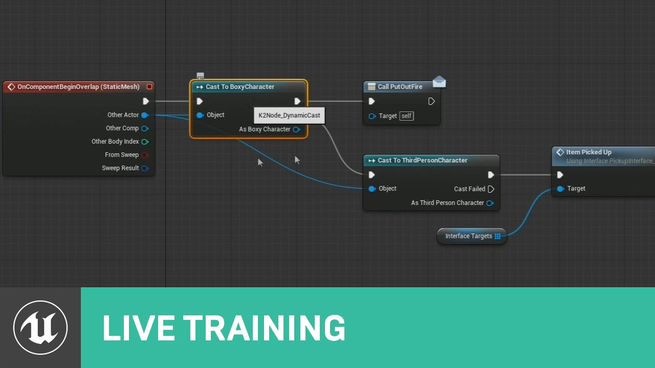 Blueprint optimization live training unreal engine youtube blueprint optimization live training unreal engine malvernweather Images