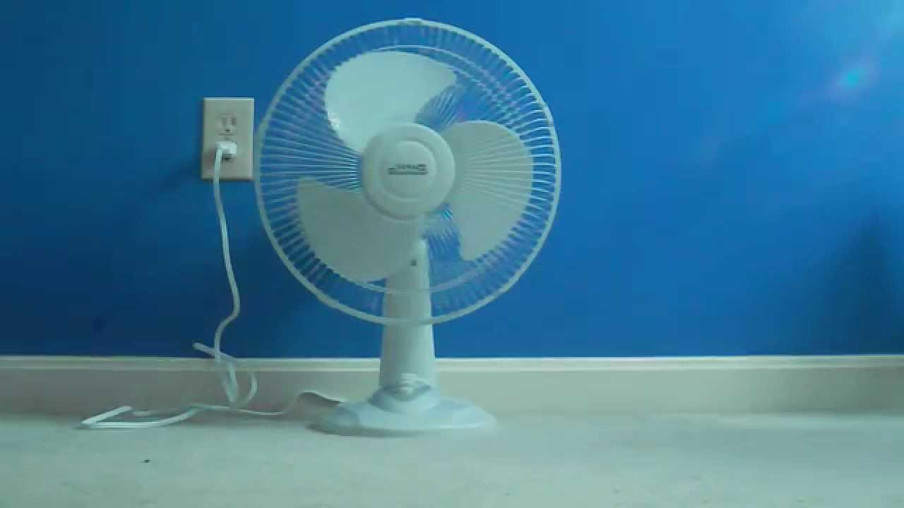 30 Living Solutions 12 Table Fan YouTube