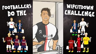 💦Football Wipe It Down Challenge💦 (Feat Frontmen Ronaldo Messi + TikTok Compilation)