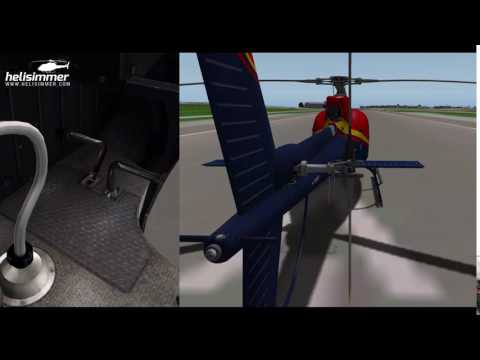 How to fly helicopters - anti-torque animation