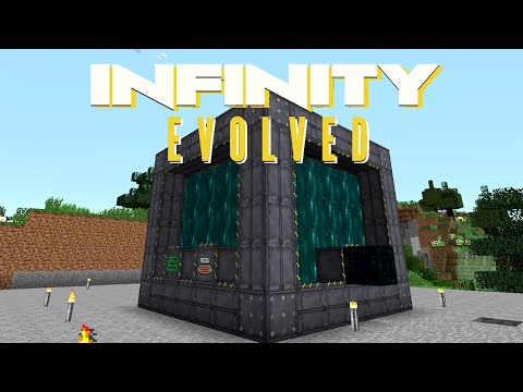 Minecraft Mods FTB Infinity Evolved - BIG REACTORS [E38] (Mo