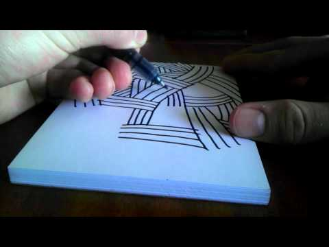 How to draw a cool background - YouTube