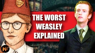 The Entire Life of Percy Weasley (Harry Potter Explained)