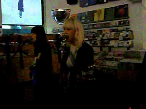 The Dum Dum Girls - Lord Knows - live at Other Music, October 1, 2012