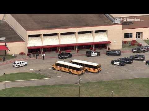 SKY 2 flies over BF Terry High School after brawl