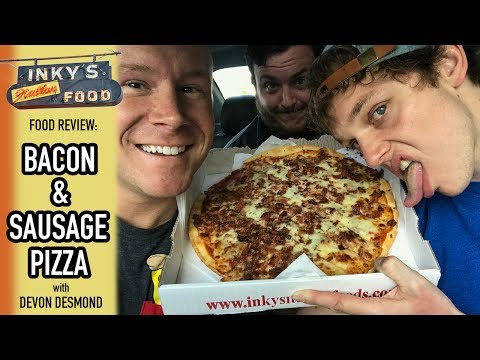 Inky's Pizza Food Review | Series Road Trip to Toledo