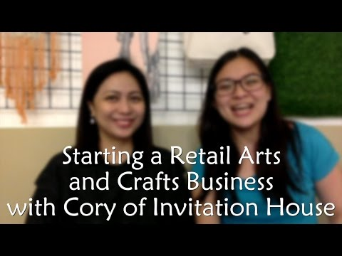 GTV Interviews: Cory Marquez Of Invitation House - Retail Arts And Crafts Business