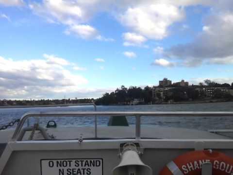 1550 Service to Paramatta - 5, Huntleys Point Wharf to Chiswick Ferry Wharf