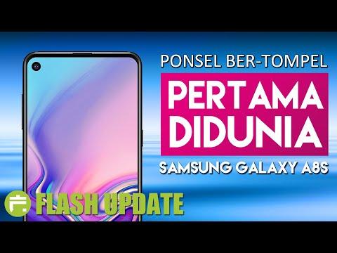 SAMSUNG GALAXY A8S INDONESIA | INFINITY-O DISPLAY PERTAMA #FlashUpdate