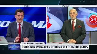 Diputados Iván Flores llama a reformar el Código de Aguas tras crisis en Osorno