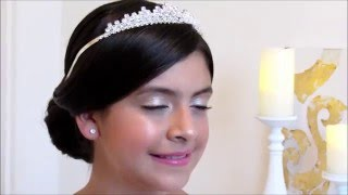 BRIDAL/WEDDING/Princess hair for girls Part 2