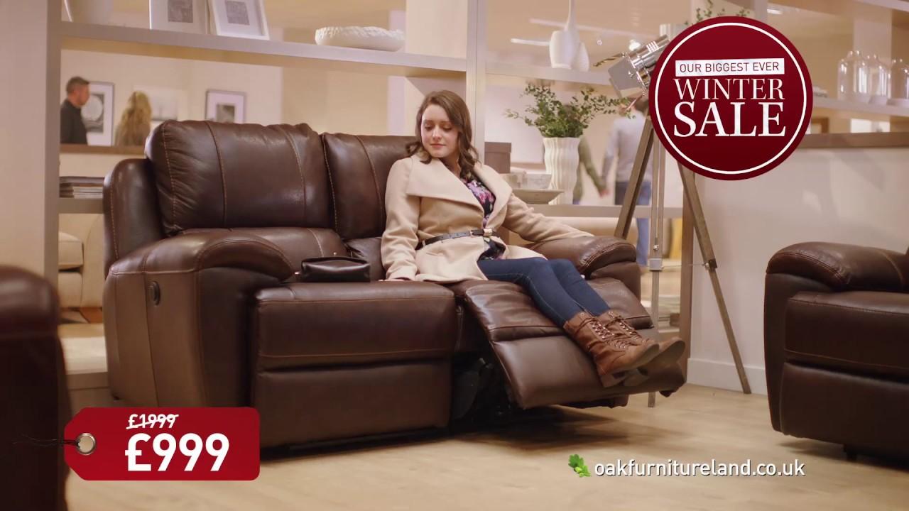 oak furniture land biggest ever winter sale youtube. Black Bedroom Furniture Sets. Home Design Ideas