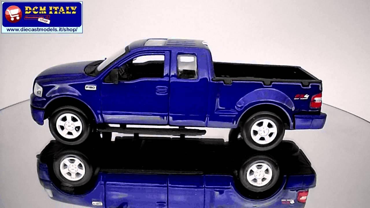 Ford F150 Fx4 2004 Maisto 124 Youtube F 150 Stx