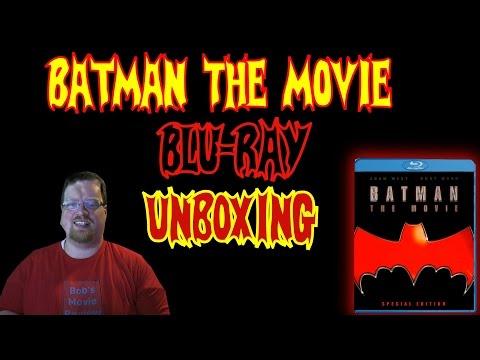 Batman: The Movie (1966)  Blu-Ray Unboxing