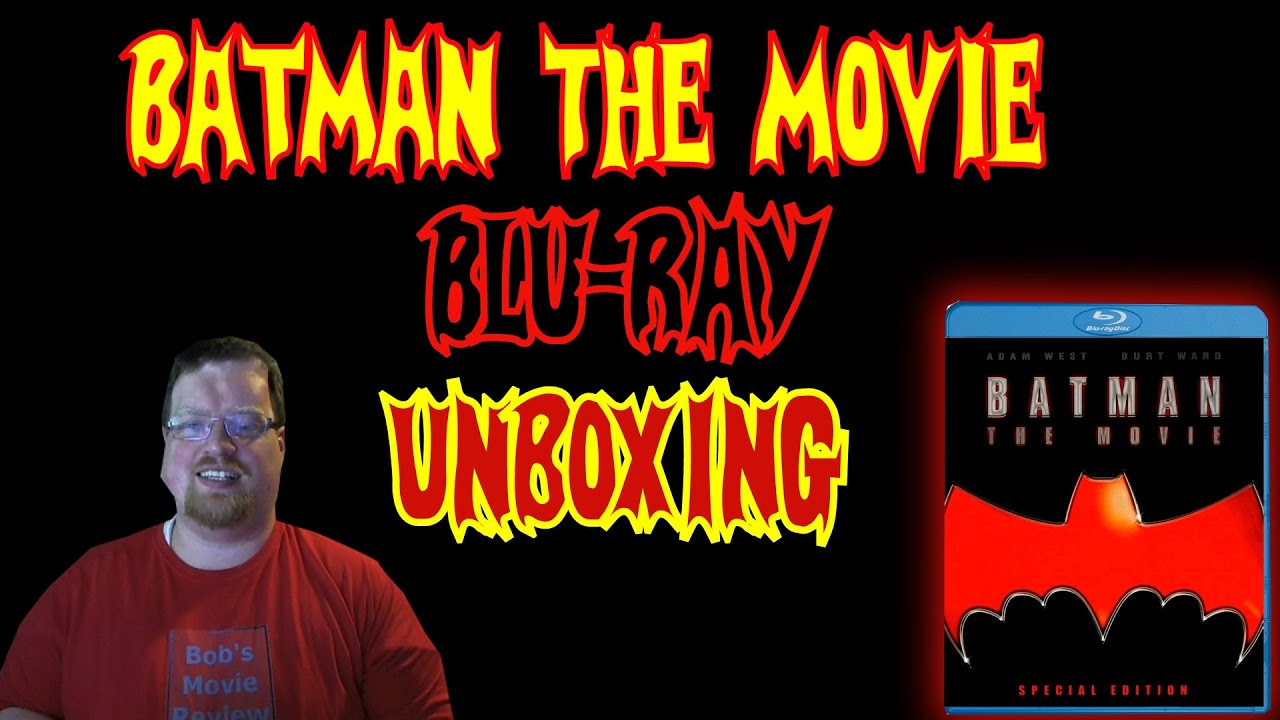 Download Batman: The Movie (1966)  Blu-Ray Unboxing