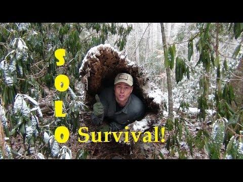 Solo Survival Winter Trip
