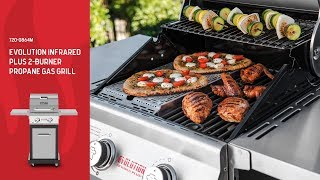 Nexgrill Evolution Infrared Plus 2-Burner Propane Gas Grill (720-0864M)