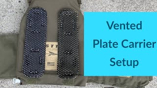 Plate Carrier Setup with Stand Off Ventilation for Summer