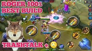 ROGER BEST BUILD   ROGER TIPS AND TRICKS   ROGER GUIDE AND TUTORIAL
