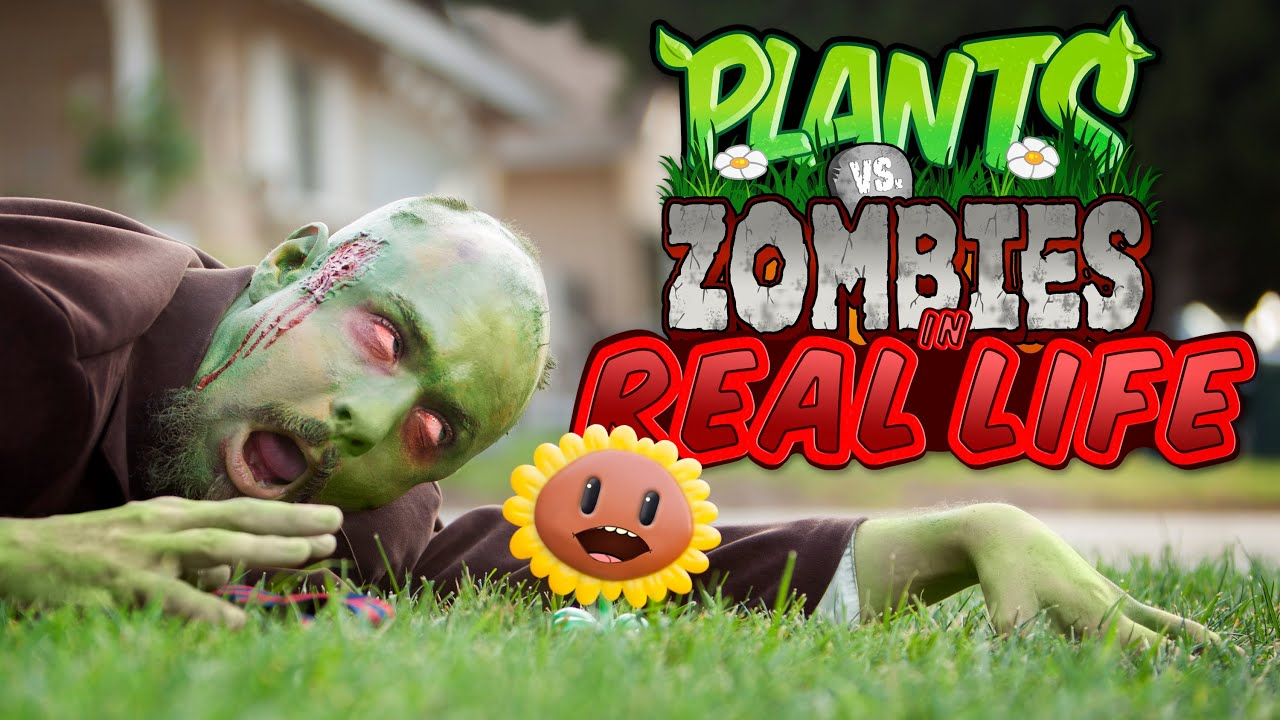 Plants Vs Zombies In Real Life Youtube