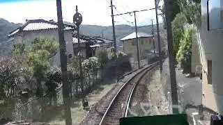 【前面展望】伊豆箱根鉄道 修善寺→三島(1)