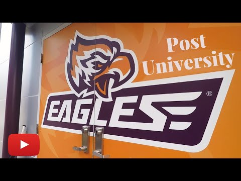 Post University Men's Lacrosse 2020 Locker Room Move in