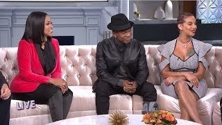 Part 2 - FULL INTERVIEW: Ne-Yo, Crystal Renay Smith, & Monyetta Shaw on a Blended Family