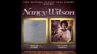 NANCY WILSON: MUSIC ON MY MIND/LIFE, LOVE & HARMONY 2013 CD reissue