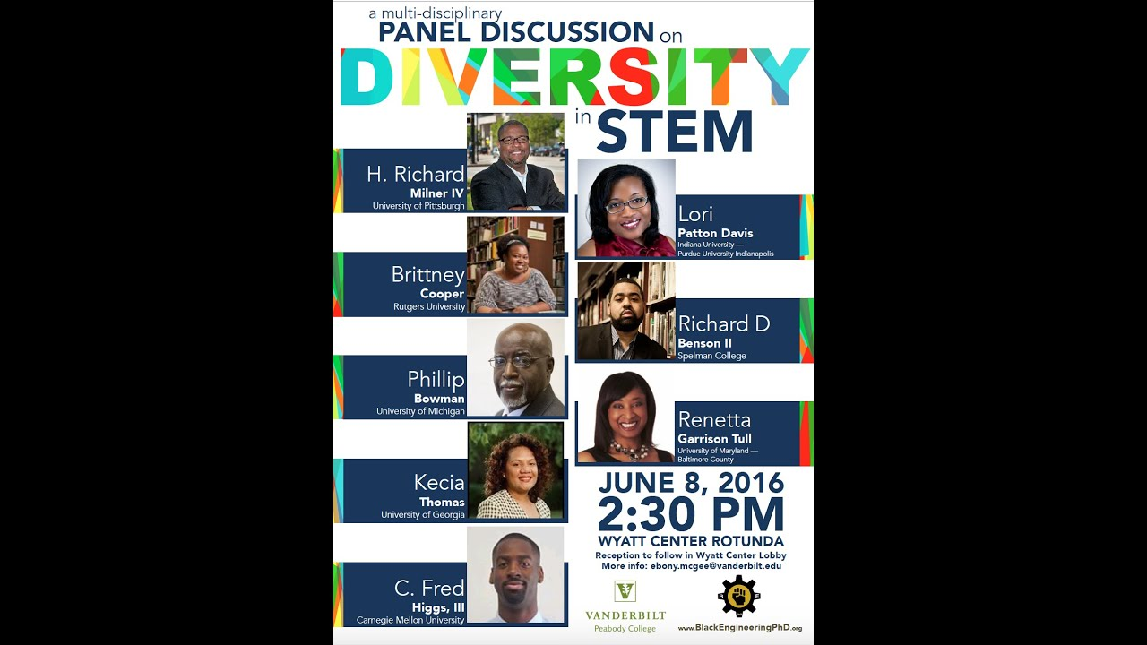 Panel Discussion on Diversity in STEM (June 2016)