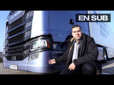 Scania S730 bemutatása - Az új Scania generáció