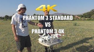 DJI Phantom 3 4K vs Phantom 3 Standard - Sample Video and Photos