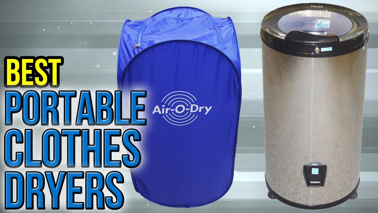 8 Best Portable Clothes Dryers 2017