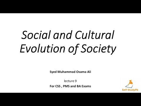How A Society Evolved?