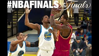 NBA 2K11 | 2017 Rosters| Cavaliers Vs Warriors | NBA Finals Game 2. 2K18