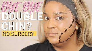 PLUS SIZE MAKEUP | DOUBLE CHIN HACK 2019 | itsagoldenlifestyle