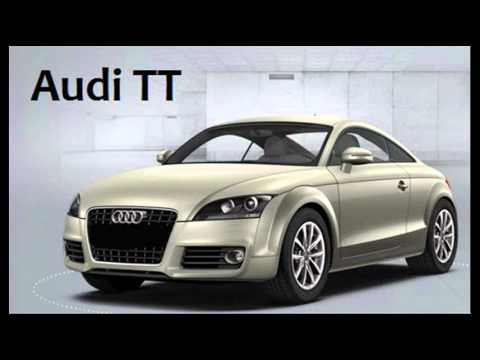 How To Pronounce Audi Tt Youtube