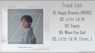 "[FULL ALBUM] JUNG DAE HYUN – CHAPTER2 ""27"""