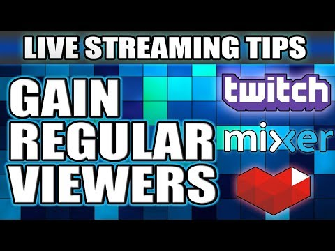 How To Get Regular Viewers To Your Stream | (Live Streaming Tips #04)